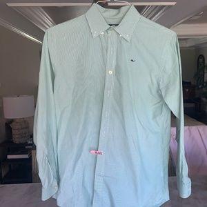 Boys Vineyard Vines Collared Button Down Shirt